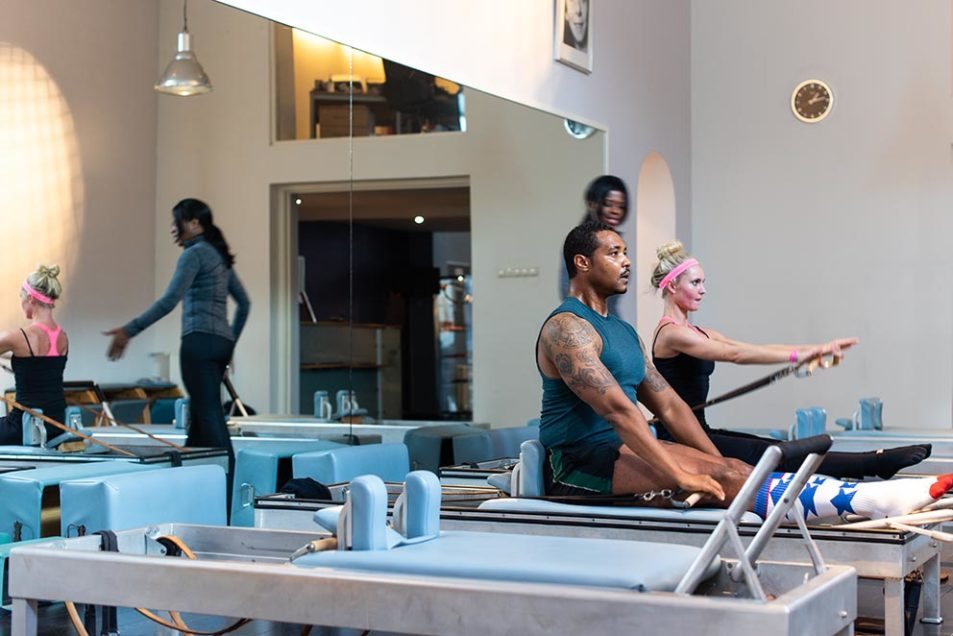 bedrijfsfotografie en portretfotografie the pilates studio scheveningen